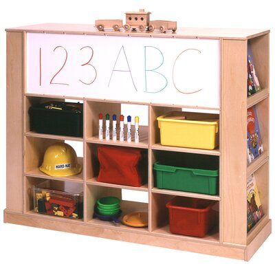 Steffy Wood Products Island 24 Compartment Cubby