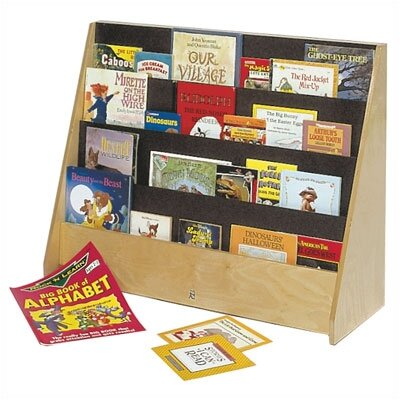 "Steffy Wood Products Big 28"" Book Display"