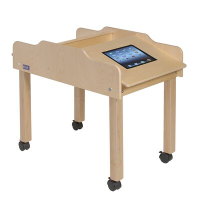 """Steffy Wood Products 35"""" x 19"""" Rectangular Classroom Table"""