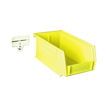 Triton Products BK220 Pegboard Mounted Plastic Bin Kit
