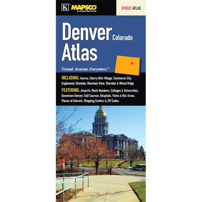 Denver Colorado City Atlas by Universal Map