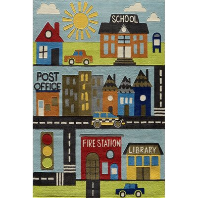 Momeni Lil' Mo Lil Mo Whimsy Town Kids Area Rug