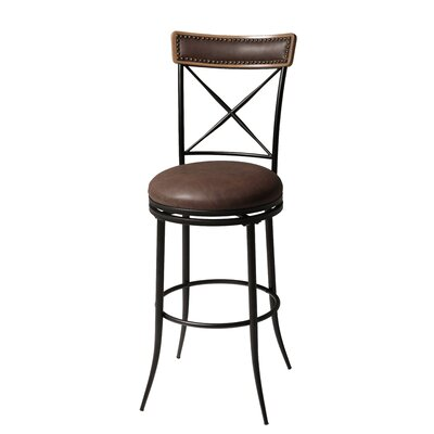 Fashion Bed Group Boise 30 Quot Swivel Bar Stool With Cushion
