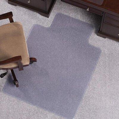 ES Robbins Corporation Anchormat High Pile Carpet Beveled Edge Chair Mat