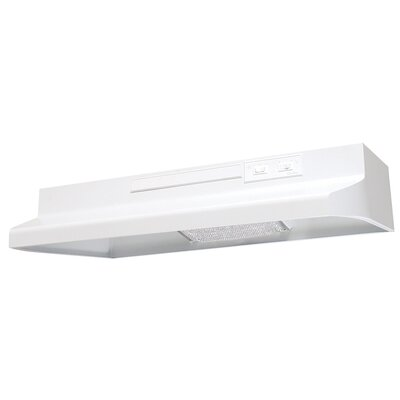 "30"" 180 CFM Ducted Under Cabinet Range Hood Product Photo"