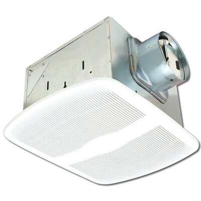 Air king deluxe quiet 150 cfm energy star bath fan reviews wayfair for Air king bathroom fan light combo