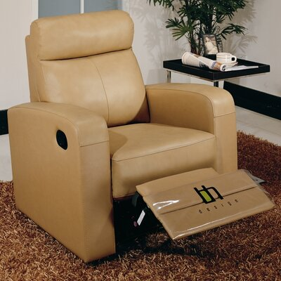 Slope Leather Recliner by Beverly Hills Furniture