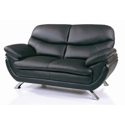 Hokku Designs BVF1058 Jonus Leather Loveseat