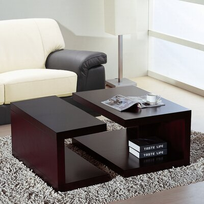 Jengo Coffee Table by Beverly Hills Furniture