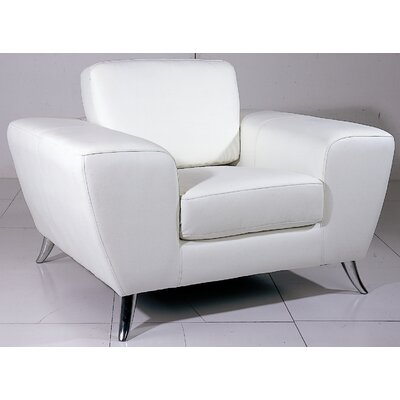 Julie Leather Chair by Beverly Hills Furniture