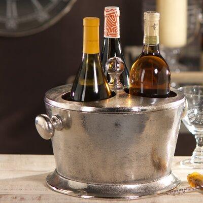 Zodax 3 Bottle Tabletop Wine Holder