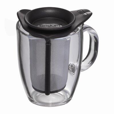 Bodum Pavina Yo Yo 12 oz. Teapot Mug and Strainer