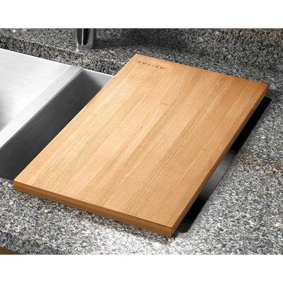 """Julien 12"""" x 17.25"""" Hard Rock Maple Wood Cutting Board"""