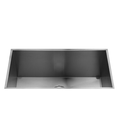 "Julien UrbanEdge 31.5"" x 17.5"" Single Bowl Undermount Service Sink"