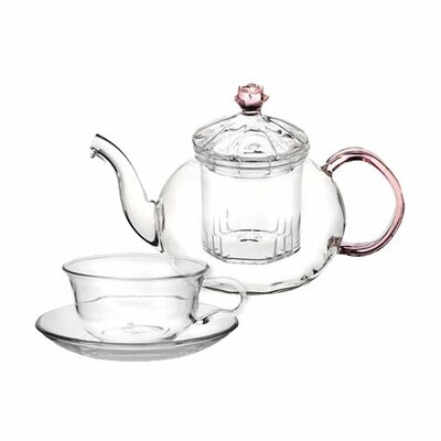 Tea Beyond Juliet 5 Piece Teapot Set
