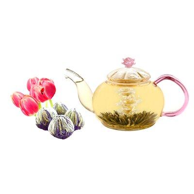 Tea Beyond Juliet 0.63-qt. Premium Blooming Jasmine Teapot