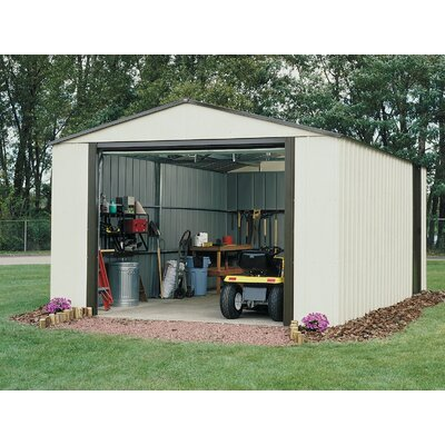 Murryhill 14 Ft. W x 21 Ft. D Vinyl Coated Steel Storage Shed by Arrow ...