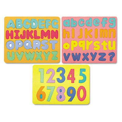 Chenille Kraft Company Magnetic Wonderfoam 3 Puzzles Letters & Numbers
