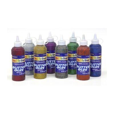Chenille Kraft Company Glitter Glue Blue 4 Oz