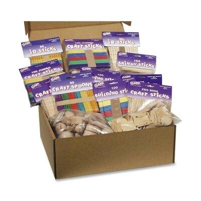 Chenille Kraft Company Wood Crafts Classroom Activities Kit