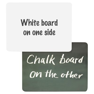 Chenille Kraft Company Combination Lap Board Whiteboard, 1' x 1'