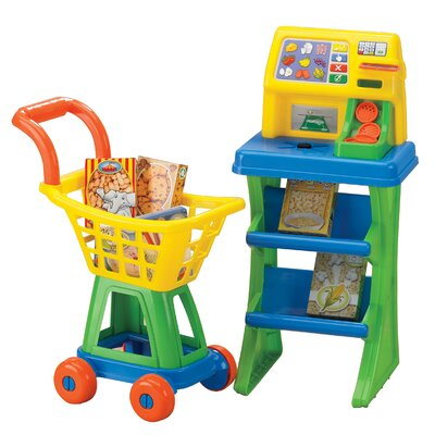 My Very Own Shop N' Play Market Set by American Plastic Toys