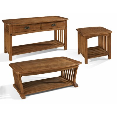 Somerton Dwelling Craftsman Coffee Table Set