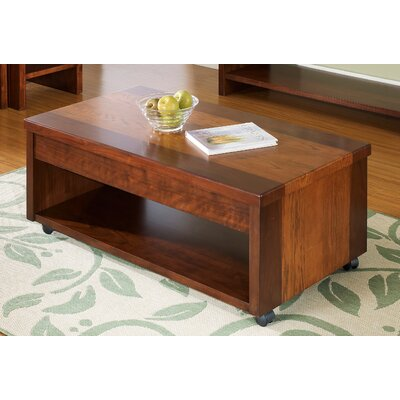 Somerton Dwelling Infinity Coffee Table With Lift Top Reviews Wayfair