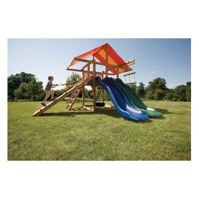 Kids Creations Redwood Big Top Swing Set