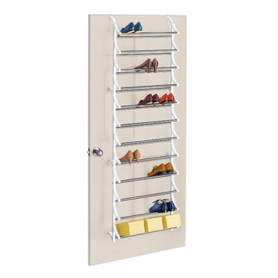 36 Pair Over-the-Door Shoe Rack by Lynk