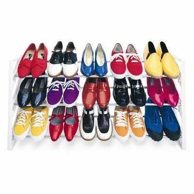 15 Pair Convertible Shoe Rack by Lynk