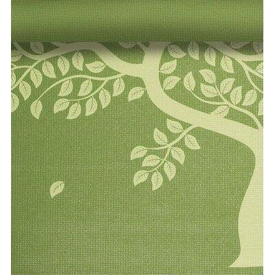 """Gaiam 0.12"""" Tree of Life Printed Yoga Mat"""