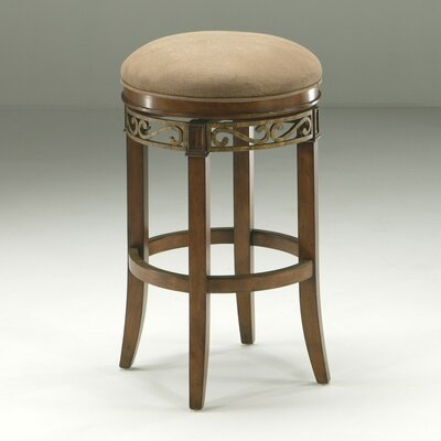 "Pastel Furniture Carmel 26.25"" Bar Stool with Cushion"
