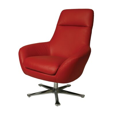 Ellejoyce Leather Chair by Pastel Furniture