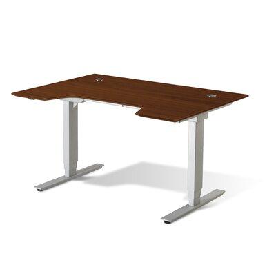 Jesper Office Standing Desk in Wood 714098