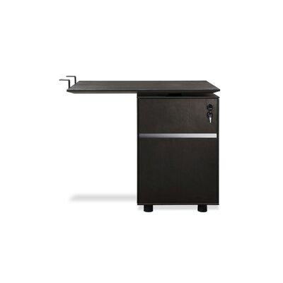 Jesper Office 300 Series Return Desk with File Cabinet