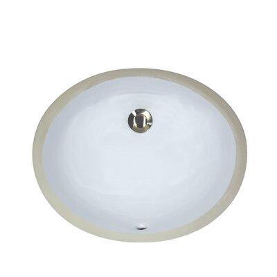 Oval Vanity Sink : Nantucket Sinks Oval Undercounter Bathroom Sink & Reviews Wayfair