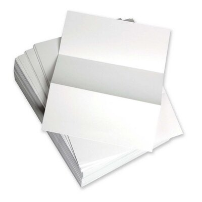 """Domtar Custom Cut Sheets, Microperf Every 3-2/3"""", 5 RM/CT, White"""