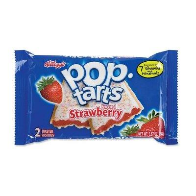 Keebler Pop Tarts, 3.67 Oz., 6 per Box, Strawberry