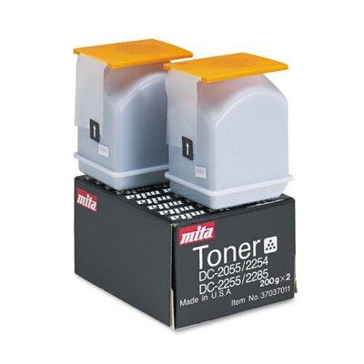 Mita 37037011 OEM Toner Cartridge, 11400 Page Yield, Black