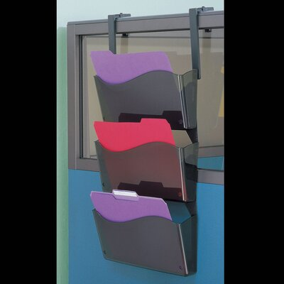 Officemate International Corp Wall File with Hanger Set (3 Per Pack)