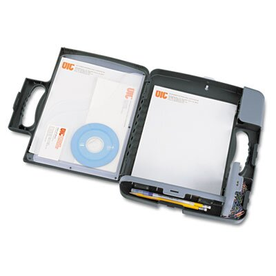 Officemate International Corp Portable Storage Clipboard Case