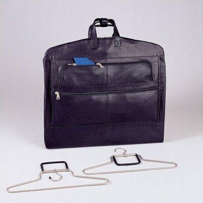 Napa Supple Cowhide Leather Garment Bag by Winn International