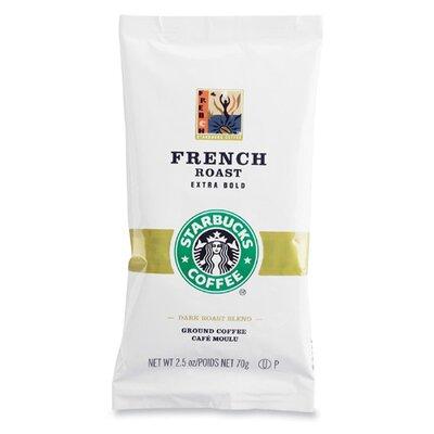Starbucks Coffee French Roast, 18 Bags/Box