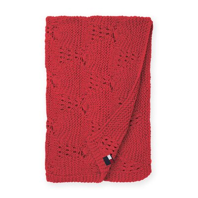 Bar Harbor Cotton Throw Blanket by Tommy Hilfiger