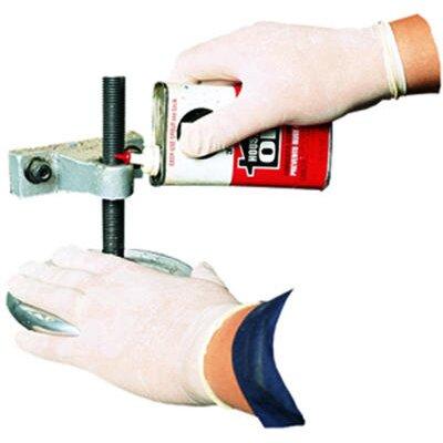 Impact Disposable Latex Medium Gloves Cornstarch Powdered General Purpose