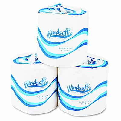 Windsoft 2-Ply Toilet Paper - 500 Sheets per Roll / 96 Rolls