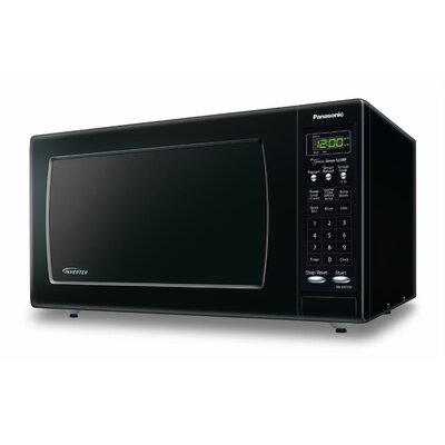 1.6 Cu. Ft. 1250W Countertop Microwave in Black Product Photo