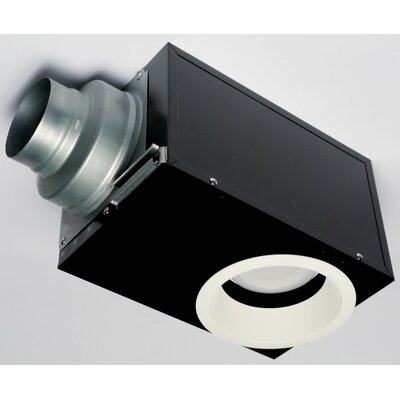 Panasonic WhisperRecessed 80 CFM Energy Star Bathroom Fan With Light Re