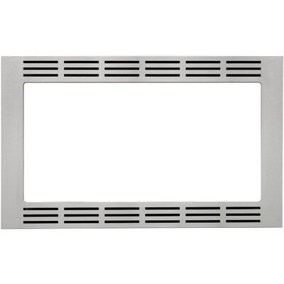 "1.2 Cu. Ft. Microwave 27"" Stainless Steel Trim Kit Product Photo"